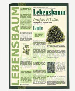 Lebensbaum Urkunde Modern