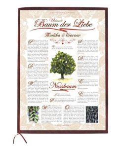 Urkunde Baum der Liebe